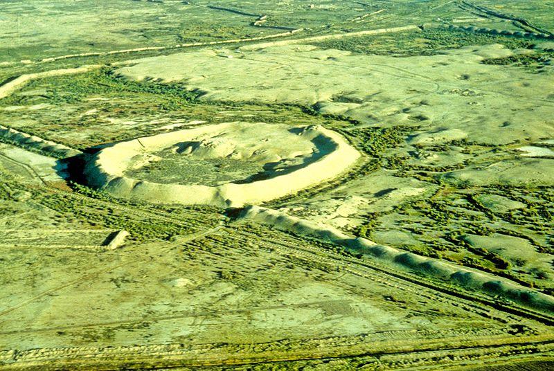 Merv Turkmenistan - from above