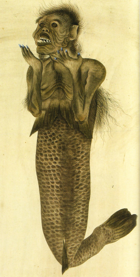 Ningyo - Vintage Mermaid 19th C myth