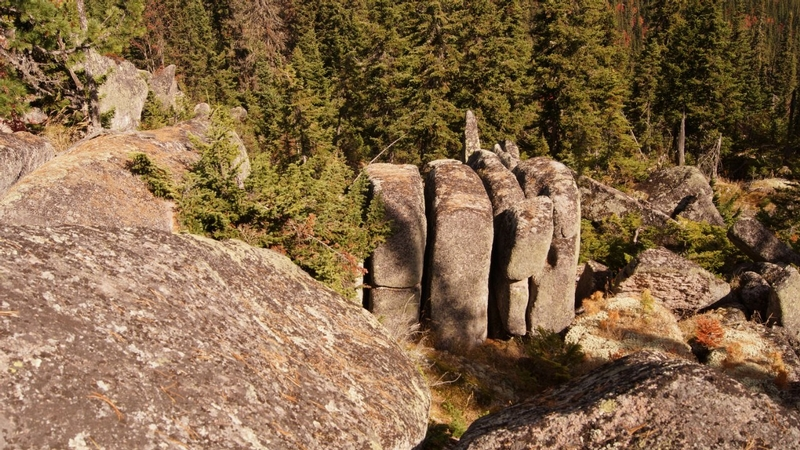 Russian Stonehenge Megalith - fallen