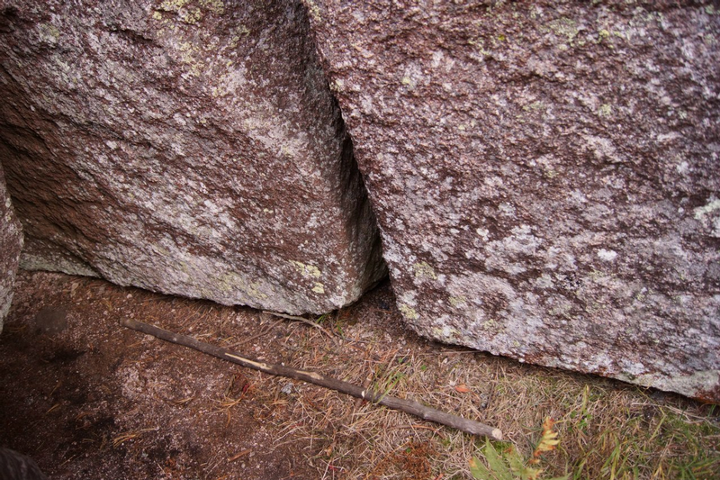 Russian Stonehenge Megalith - tight gap 2