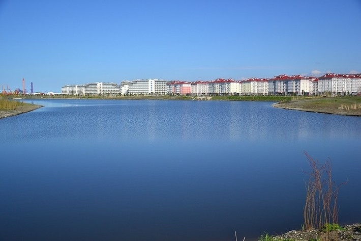 Sochi After Olympics 2014 - lake