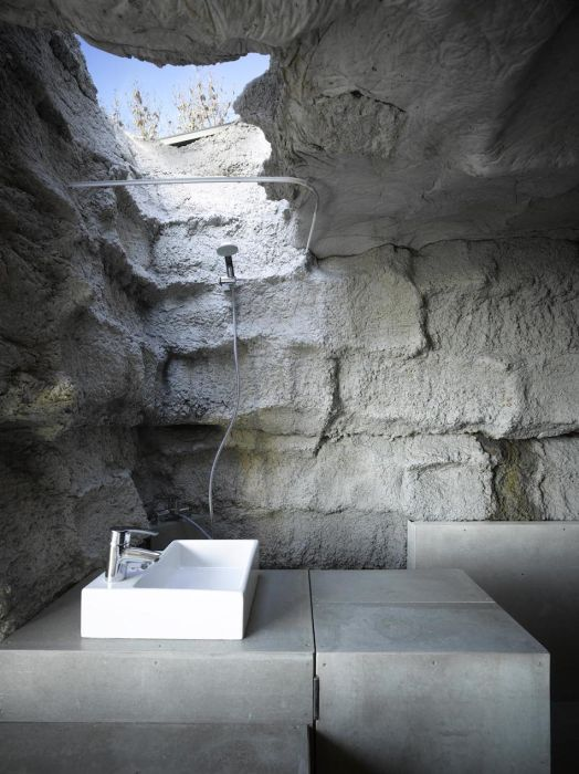 Stone House - Spanish - Rock - Inside sinnk