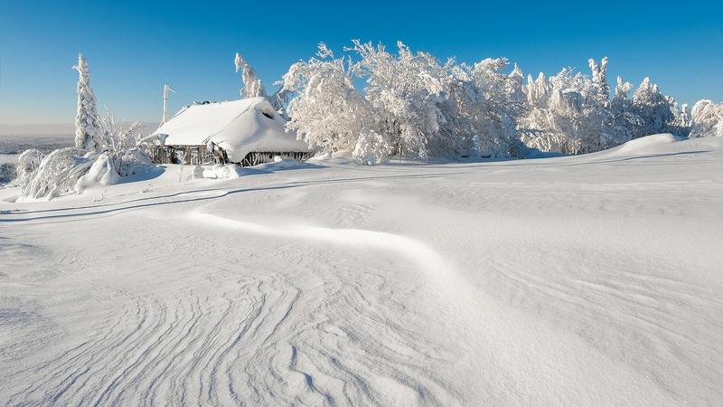 Winter In Russia Vladimir Chuprikov - christmas