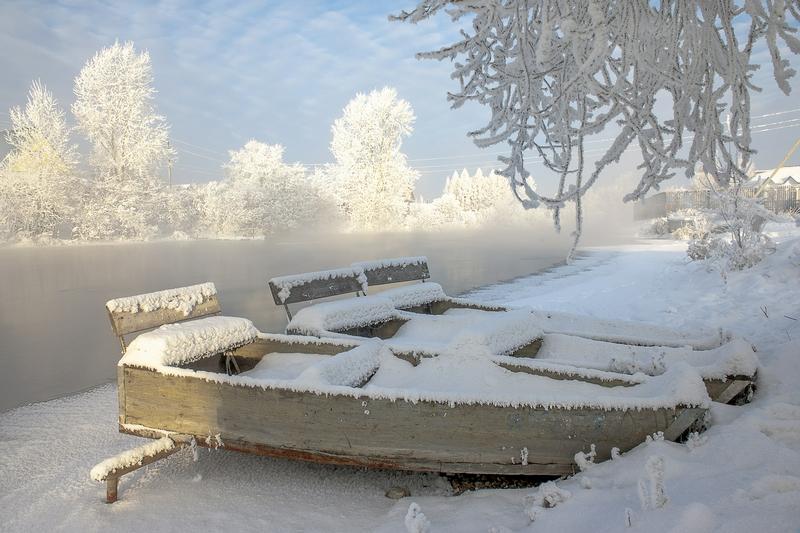 Winter In Russia Vladimir Chuprikov - lake