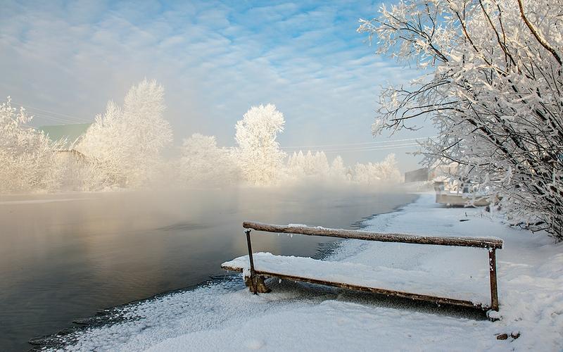 Winter In Russia Vladimir Chuprikov - quick swim