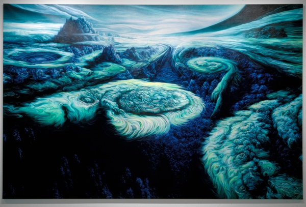 Glenn Brown A Scandalous Collection Of Paintings Lazer