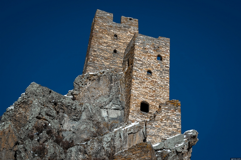 Ingushetia Watch Towers Russia History blue sky