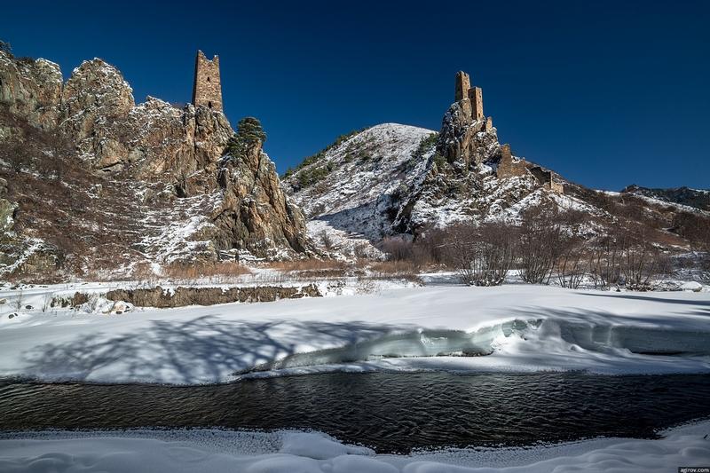 Ingushetia Watch Towers Russia History river
