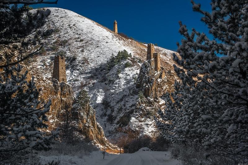 Ingushetia Watch Towers Russia History