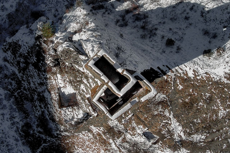 Ingushetia Watch Towers Russia from above