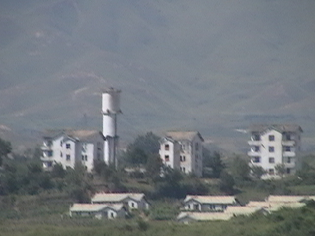 Kijong-dong - Propaganda Village - shells