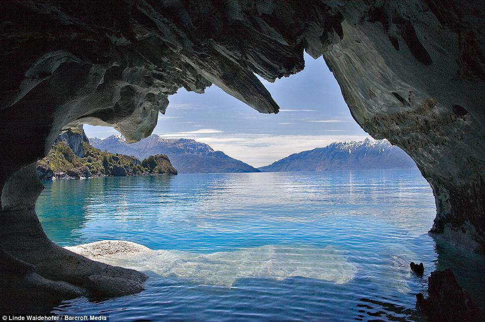 Marble Caves Chile - Exit View