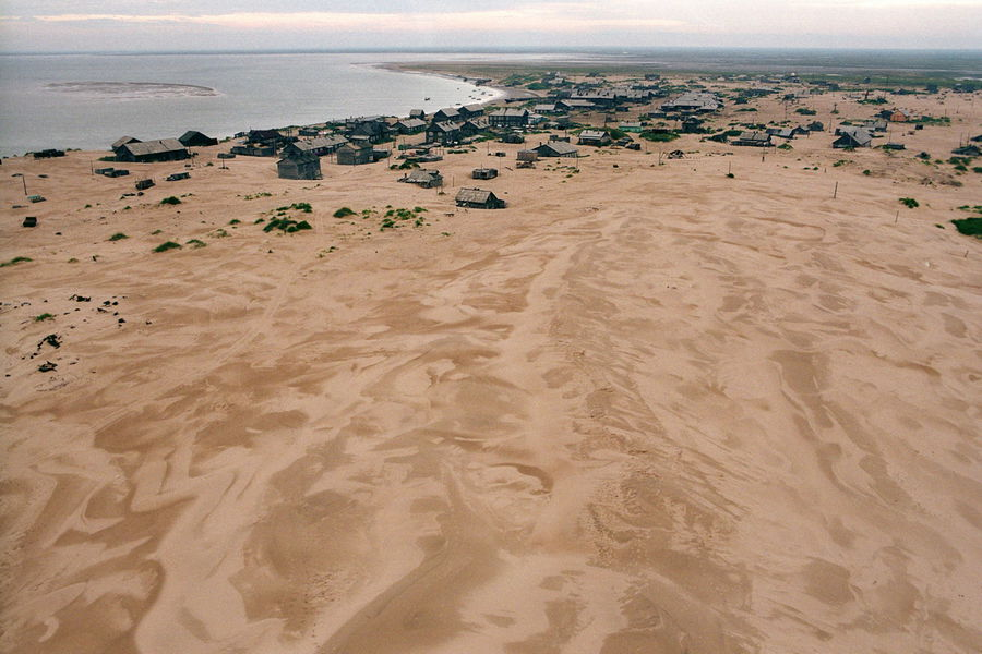 Shoina - Village Buried In Sand - dune
