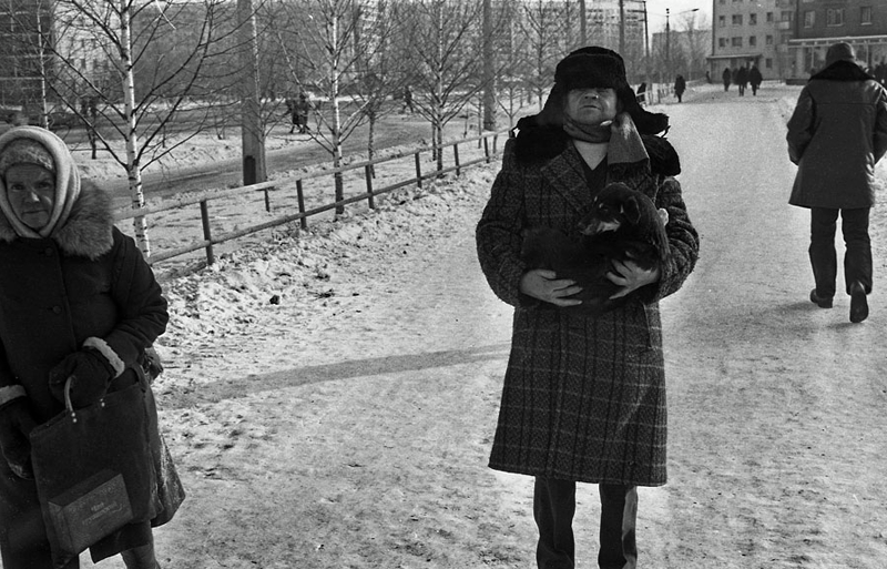 Vladimir Vorobjev - Russia Photography - 80s - dog