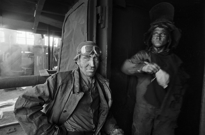 Vladimir Vorobjev - Russia Photography - 80s - miners
