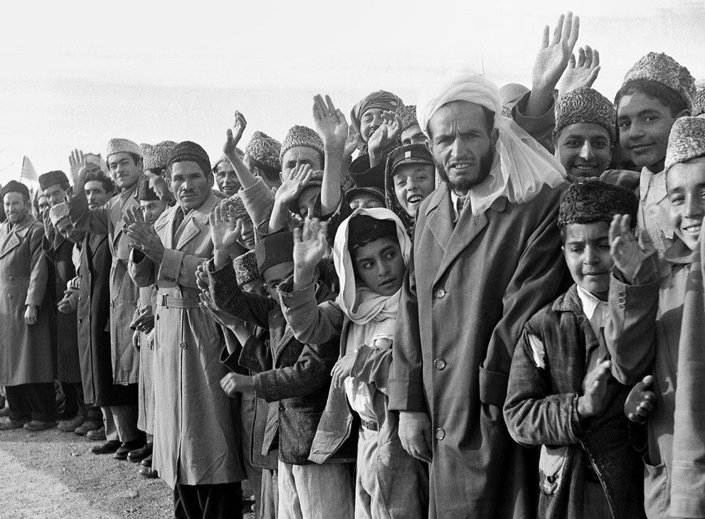 Afghanistan 50s 60s - Eisenhower's visit to Kabul 59