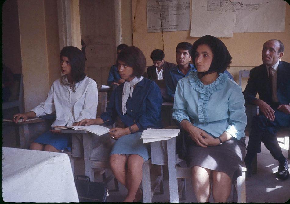 Afghanistan 50s 60s - Higher Teachers College of Kabul