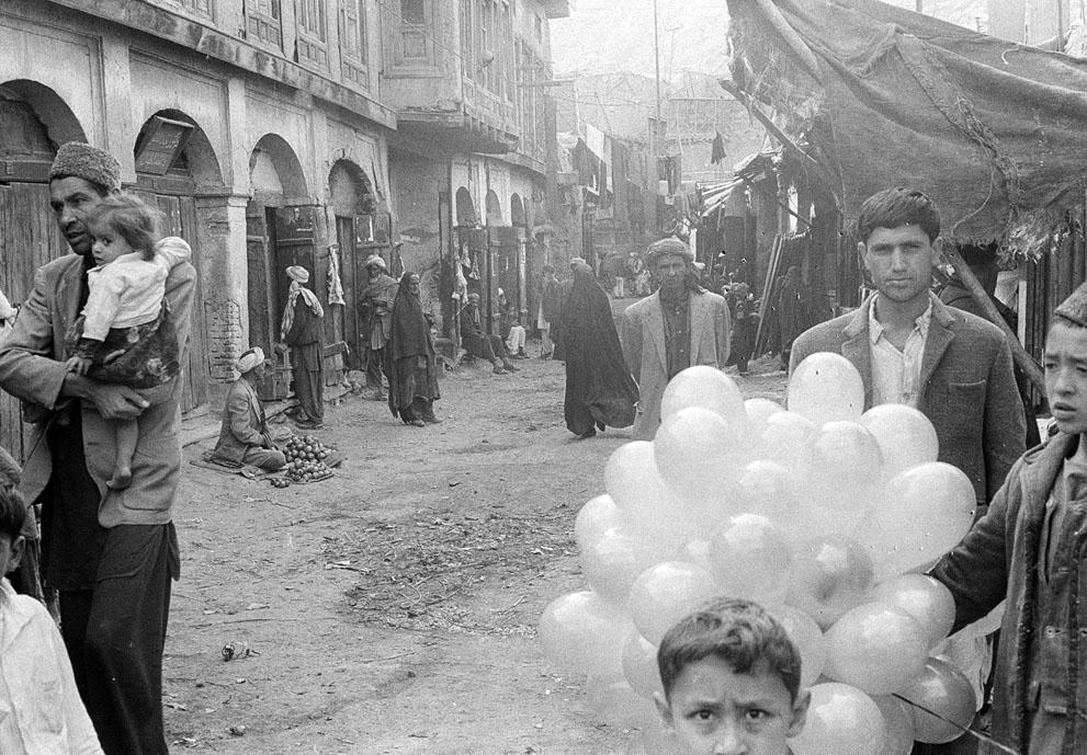 Afghanistan 50s 60s - stre bazar Kabul 1969