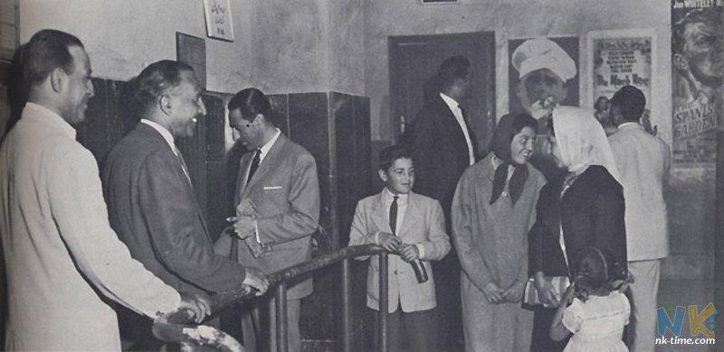 Afghanistan 50s 60s - women in movie theatre