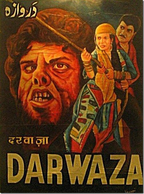 Bollywood Horror - Poster - Darwaza