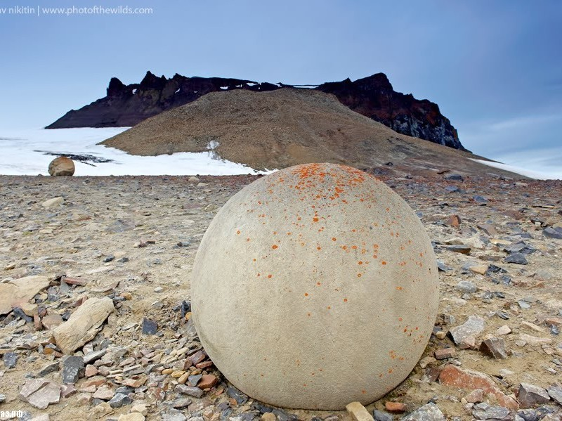 Champ Island Stone Spheres - ball