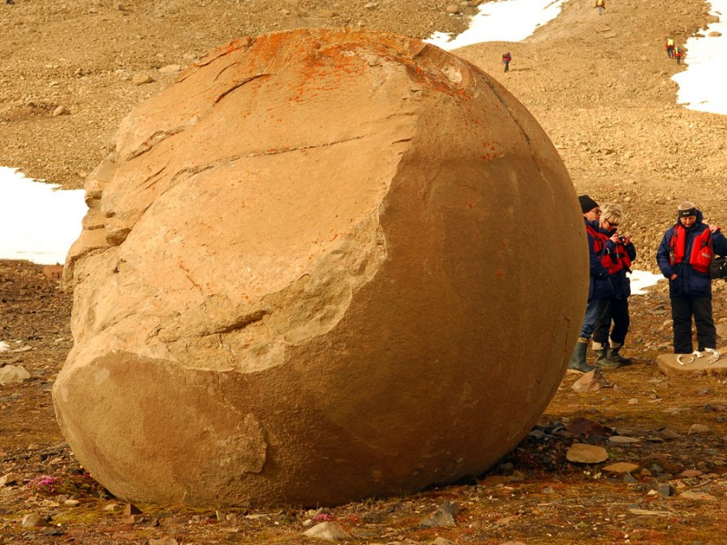 Champ Island Stone Spheres - biggest