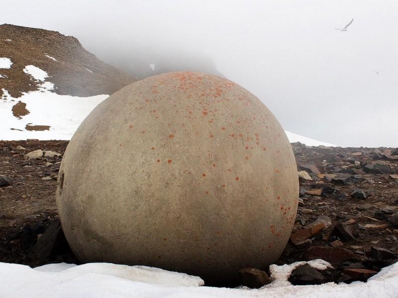 Champ Island Stone Spheres - franz josef