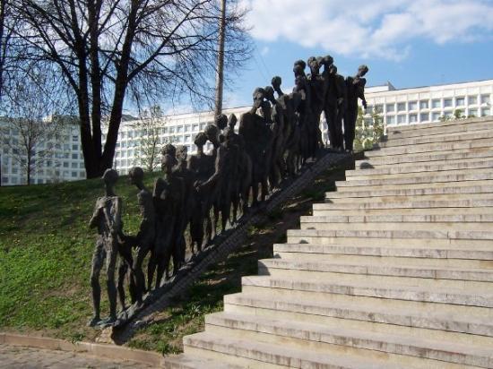 Statues Belarus - Holocaust Memorial - Minsk, Belarus