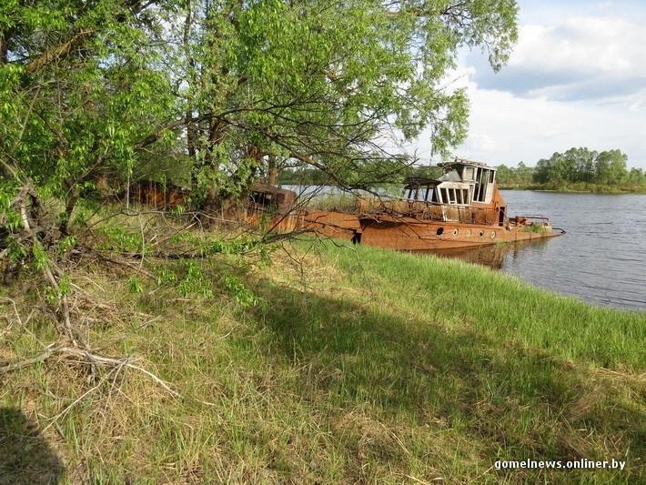 Chernobyl Belarus - boat