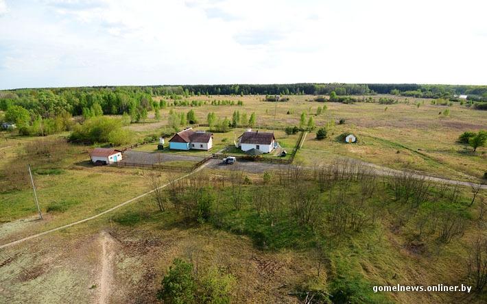 Chernobyl Belarus - village