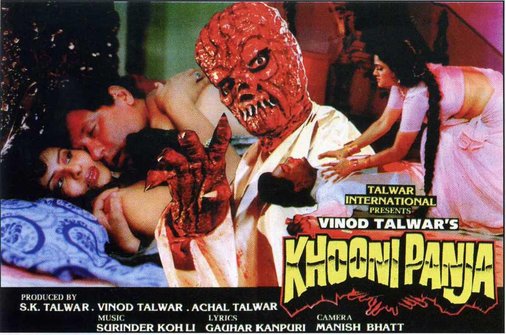 Classic Indian Horror Bollywood Movie Posters - Zinod Talwar