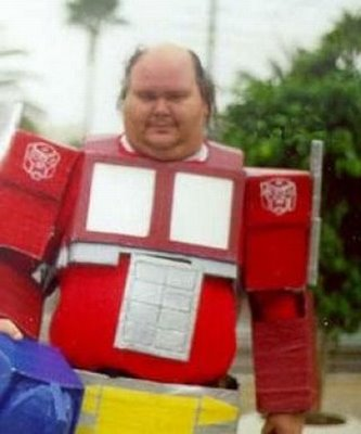Cosplay Fails - Optimus Prime