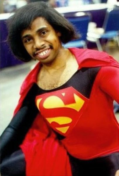 Cosplay Fails - black superman