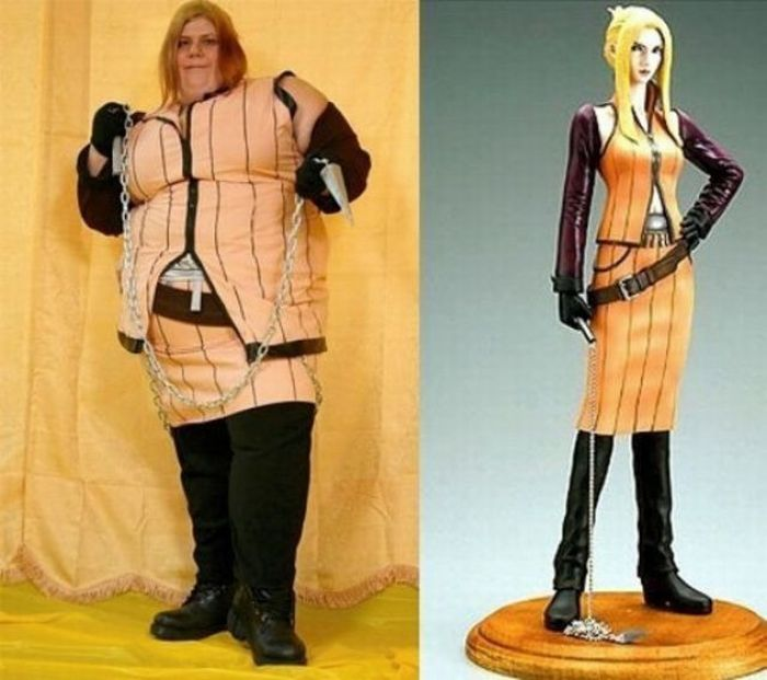 Cosplay Fails - chains and whips
