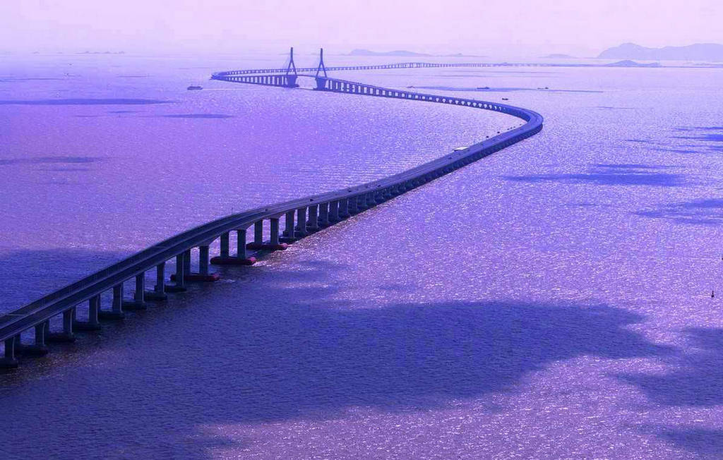 Kunshan China  City pictures : Danyang–Kunshan Grand Bridge in China gets the prize for being the ...