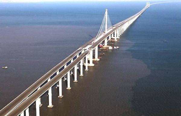 Danyang–Kunshan Grand Bridge - straight