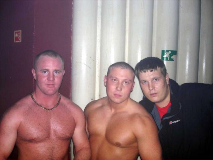 English Rednecks - Club Photos - meat heads