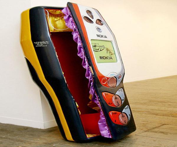 Ghana Coffins - Kane Kwei - nokia phone
