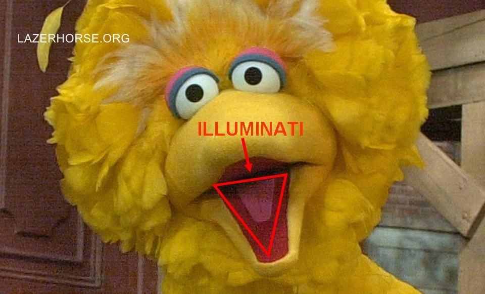 Illuminati Evidence Proof - Big Bird Sesame Street