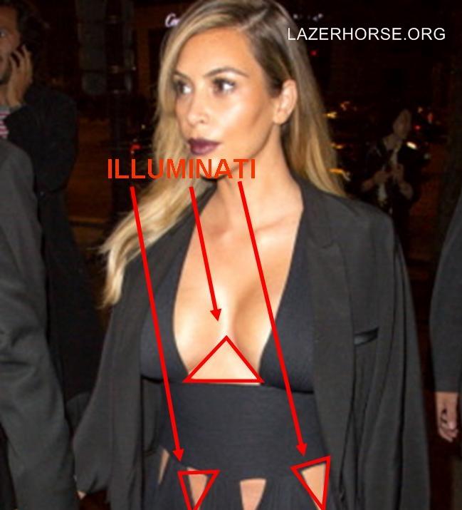 Illuminati Evidence Proof - Kim Kardashian