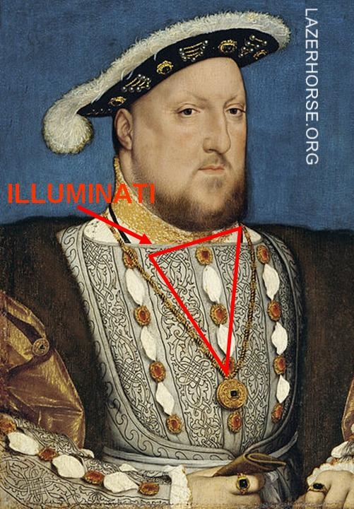 Illuminati Evidence Proof - King Henry VIII