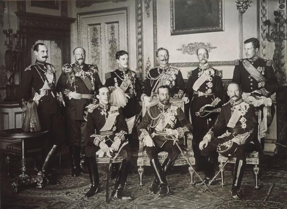 Interesting Old Photos Rare - 9 kings 1910