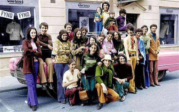 Interesting Old Photos Rare - Osama Bin Laden Sweden 1970s