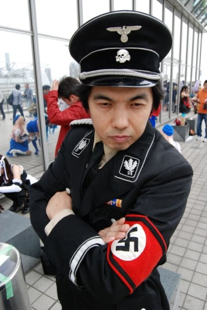 Korean Nazi Chic Fashion - China