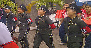 Korean Nazi Chic Fashion - Thailand