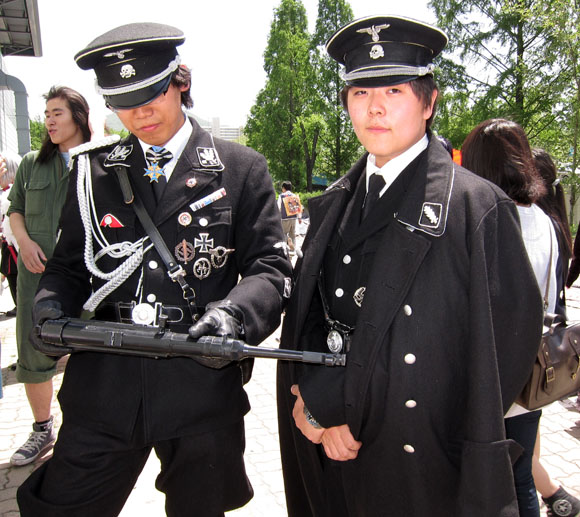 Korean Nazi Chic Fashion - Trench Coats