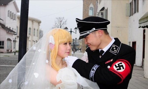 Korean Nazi Chic Fashion - Wedding Photo 2