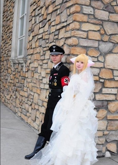 Korean Nazi Chic Fashion - Wedding Photo 3
