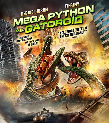 Mad Films - Mega Python vs. Gatoroid poster