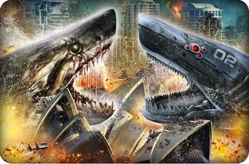 Mad Films - Mega Shark vs Mecha Shark